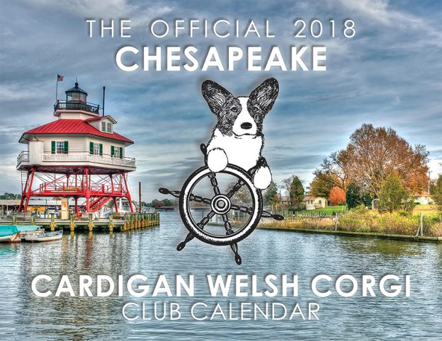 2018 Chesapeake Cardigan Welsh Corgi Club Calendars On Sale NOW!
