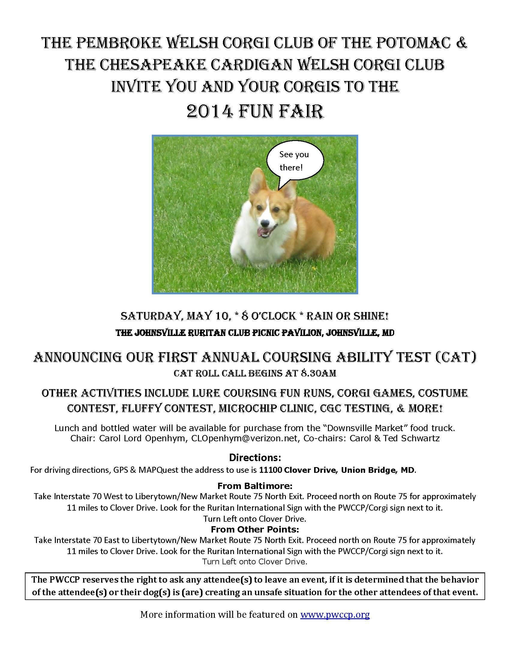 Fun Fair 2014 flyer